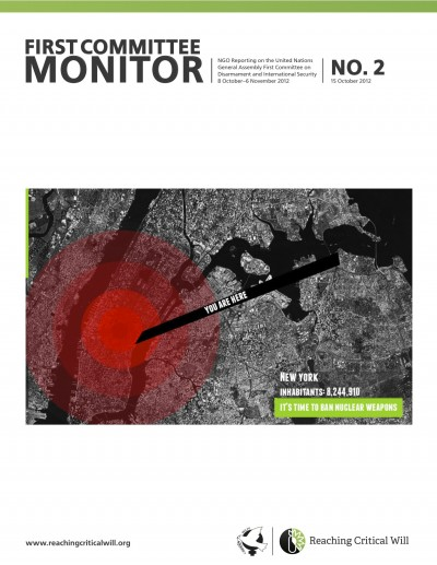 Cover of the First Committee Monitor