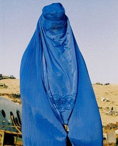 Photo of woman in burka