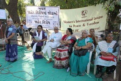WILPF India demonstrates against rape in India