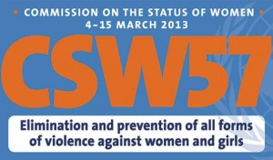 Banner from the CSW57 2013