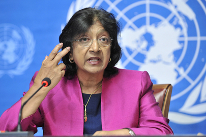 Photo of Navi Pillay, UN High Commissioner for Human Rights