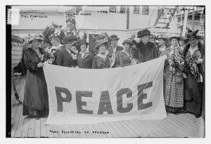 Peace delegation 1915