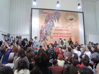 Women's Assembly at the 2013 World Social Forum