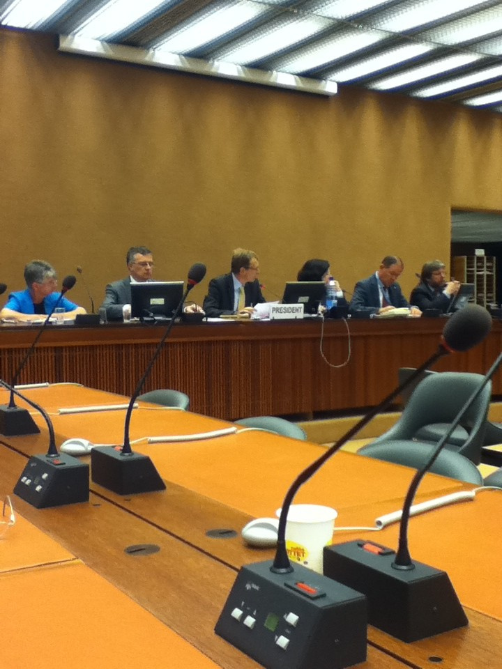 Photo of a UPR side event on Germany