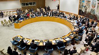 Photo of the UN Security Council