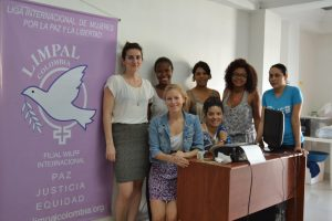 Tove and Ester visiting LIMPAL Colombia