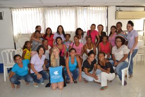 Workshop with LIMPAL and Mujeres Lideresas.
