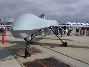 Example of a military drone