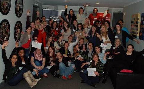 Photo of WILPF Delegates at CSW 2014