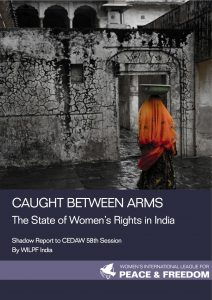 Cover of WILPF's Shadow Report to CEDAW