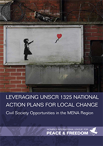 Cover of the publication: Leveraging UNSCR 1325 National Action Plans for Local Change