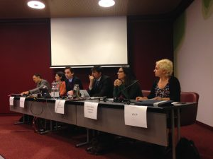 The NGO panel for the UPR pre-session on Spain