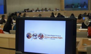 Annual forum on business and human rights