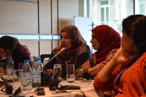 Participants share experiences combating sexual and gender based violence in Iraq and Syria.