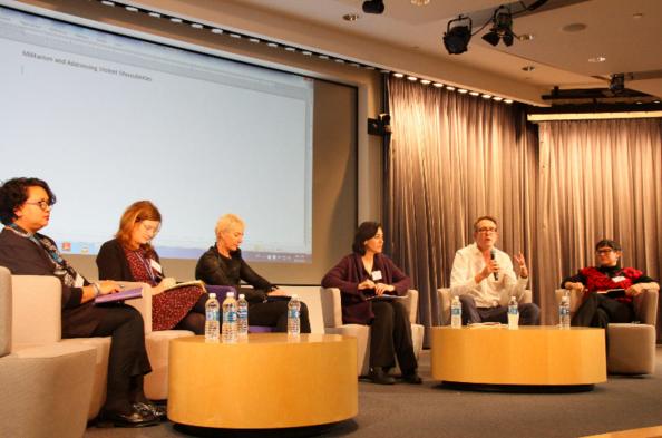 WILPF & MADRE Symposium on Implementing the WPS Agenda. Photo Credit: Marta Bautista (PeaceWomen).