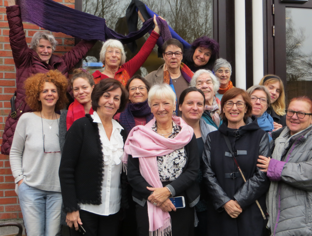 On 3-5 March 2016, a group of WILPF members met informally in Brussels. Photo credit: WILPF.