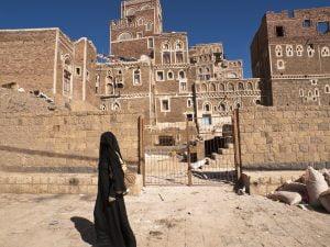 Sanaa Yemen - December, 21, 2010. Photo: Helovi / iStock