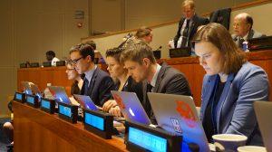 ICAN working group. Photo credit: ICAN International.