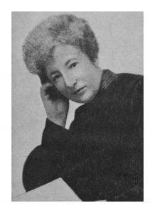 Anita Augspurg (1857 - 1943). Photo: WILPF.