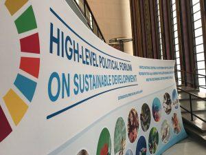High Level Political Forum banner