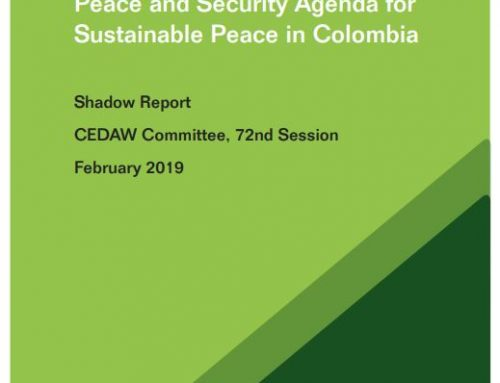 Implementing the WPS Agenda for Sustainable Peace in Colombia