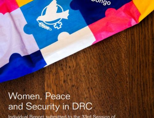 Contribution of WILPF DRC to the Universal Periodic Review