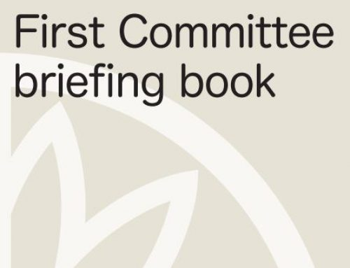 First Committee Briefing Book 2018