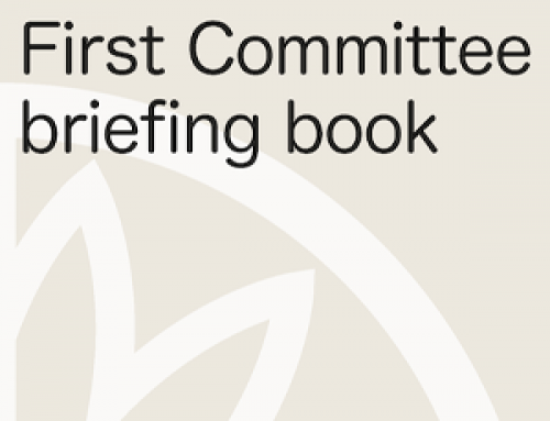 First Committee Briefing Book 2019