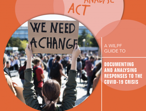 A WILPF Guide to Documenting and Analysing Responses to COVID-19