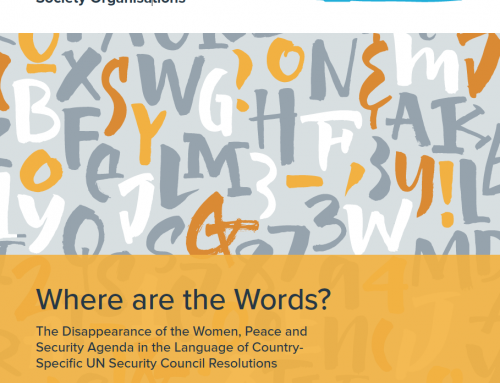Where are the Words? A Guide for Civil Society Organisations
