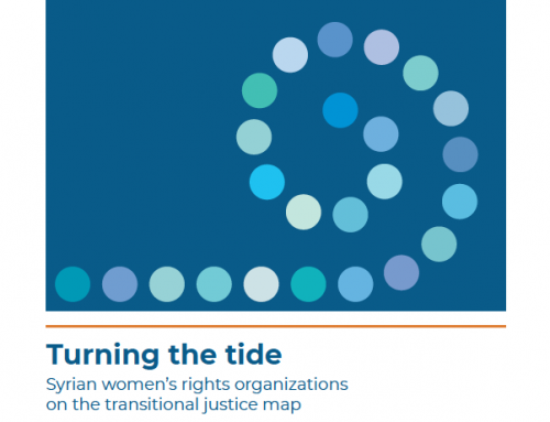 Turning the Tide: Syrian Women's Rights Organisations on the Transitional Justice Map
