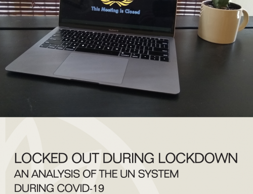 Locked out during lockdown an analysis of the UN system during COVID-19