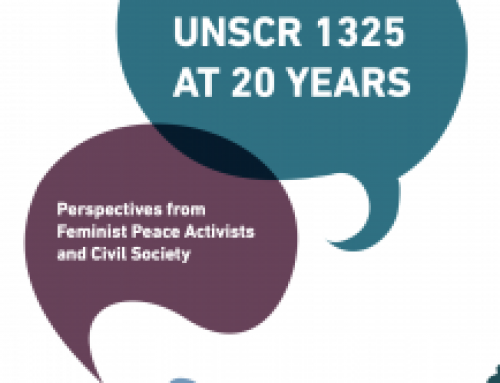 UNSCR 1325 at 20 years: Perspectives from Feminist Peace Activists and Civil Society