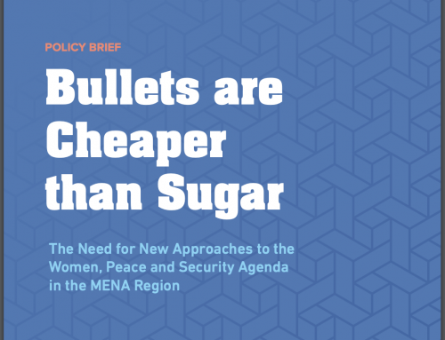 Policy Brief: Bullets are Cheaper than Sugar