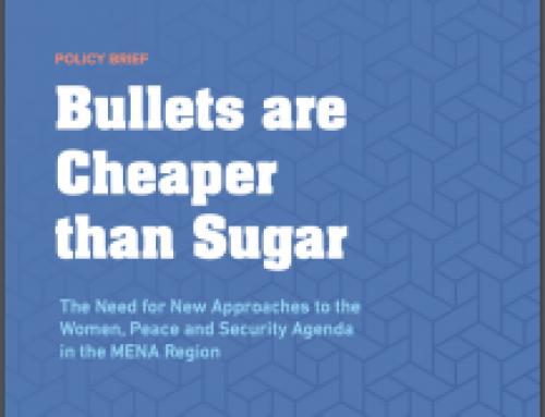 Policy Brief: Bullets are Cheaper than Sugar