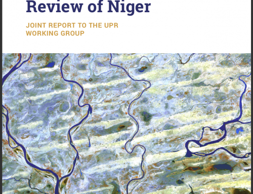 Universal Periodic Review of Niger