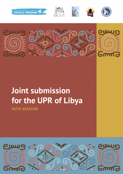 Cover of WILPF's submission for the UPR of Libya