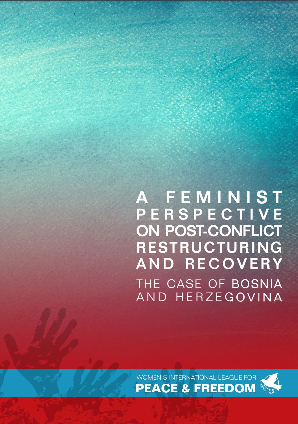 WILPF's publication on Bosnia and Herzegovina