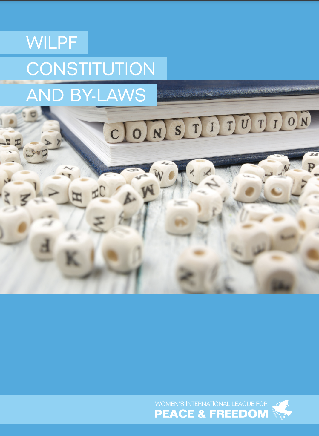 WILPF's constitution and by-laws