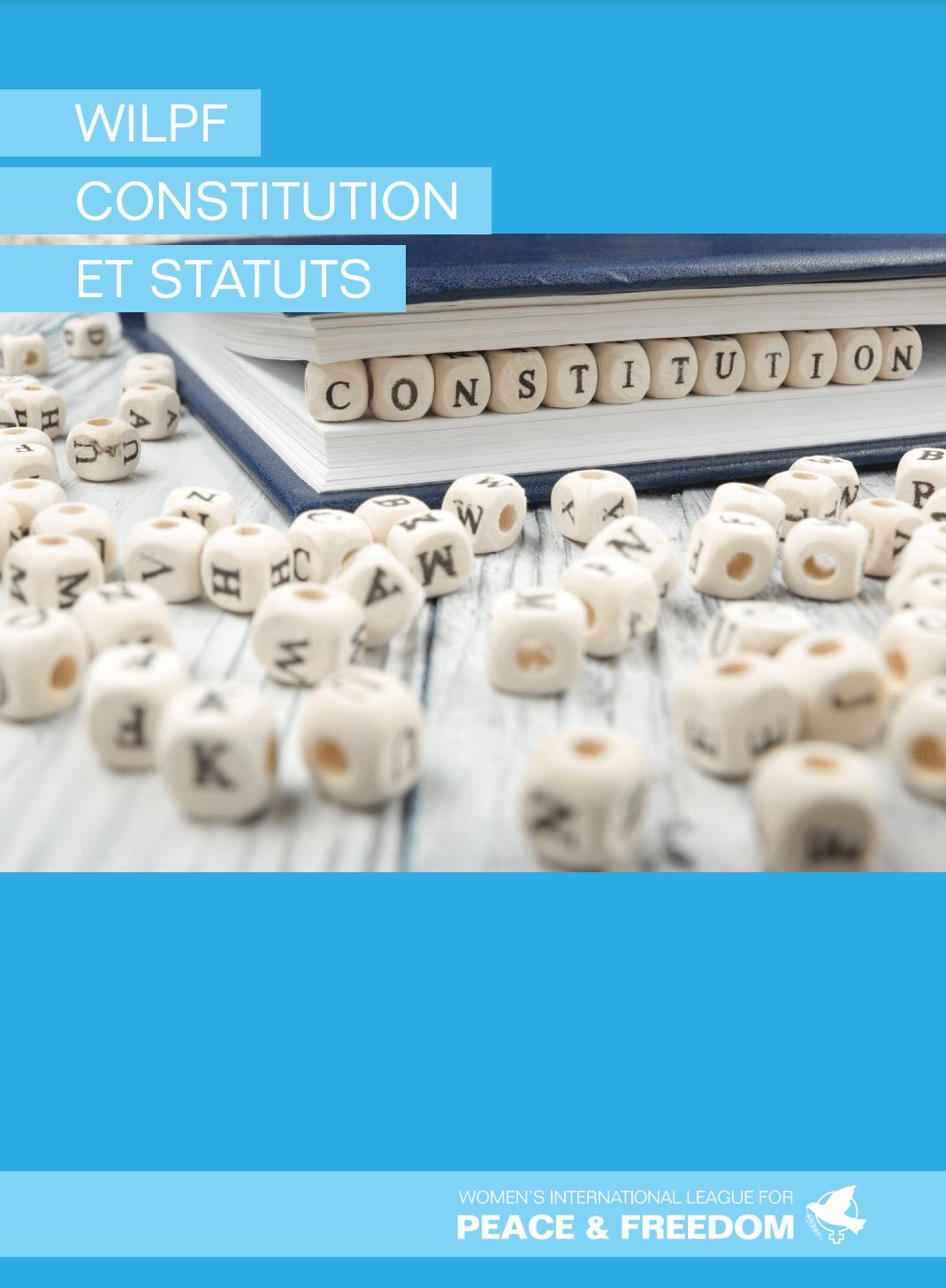 Constitution et statuts de WILPF