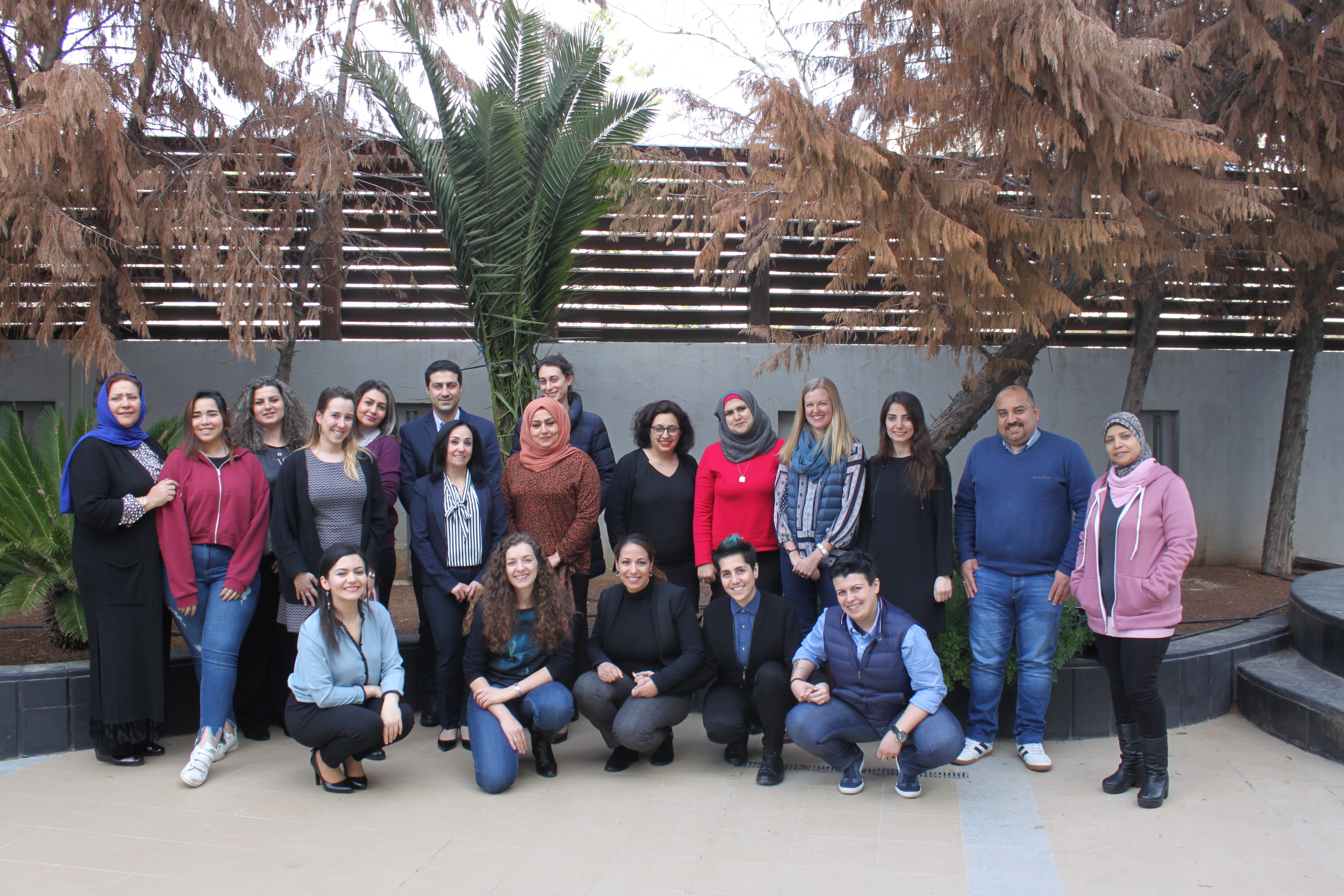 A group photo during MENA convening 2017