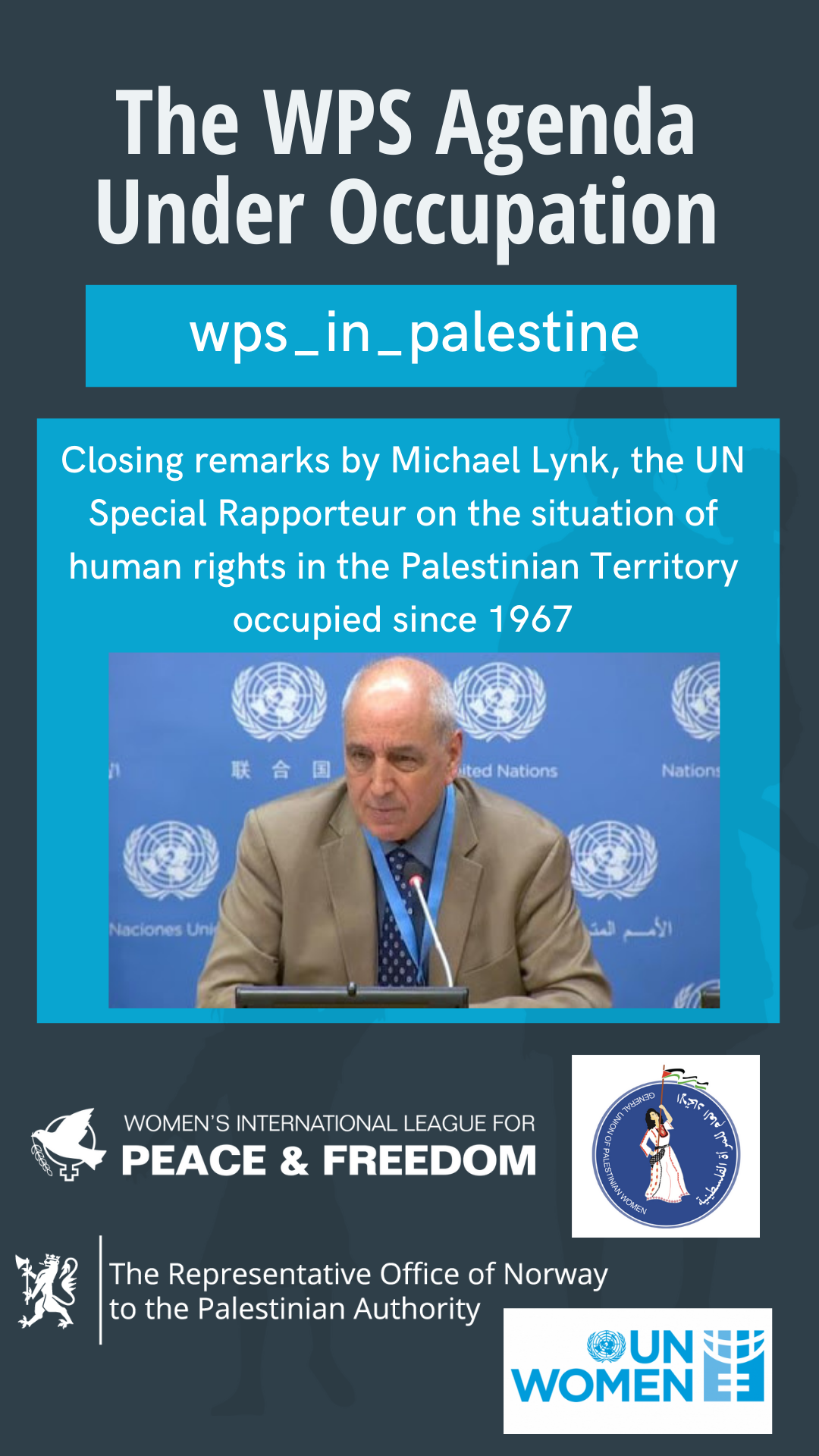 Michael Lynk, UN Special Rapporteur on human rights in the Palestinian Territory