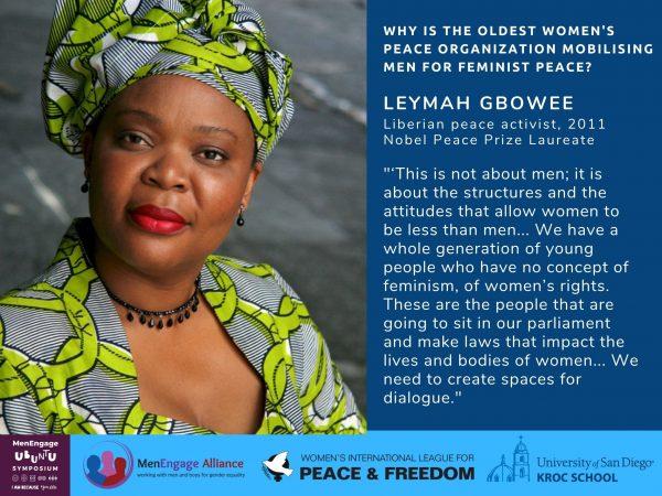 photo of the nobel laureate Leymah Gbowee.