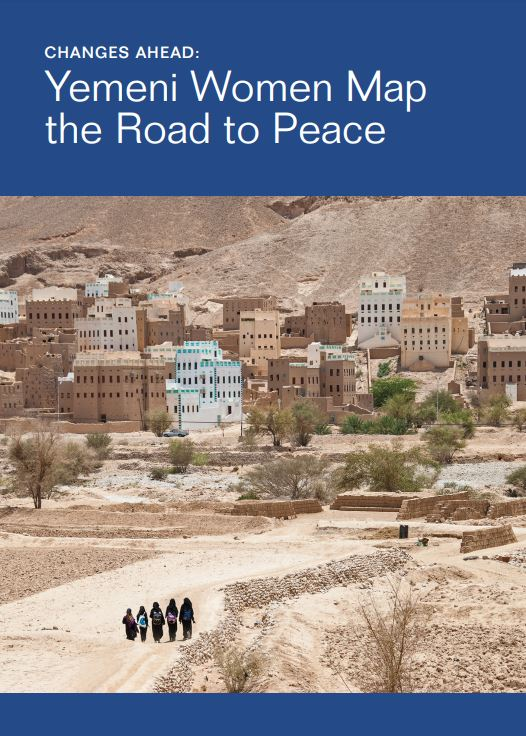 Report Cover: Yemeni Women Map the Road to peace
