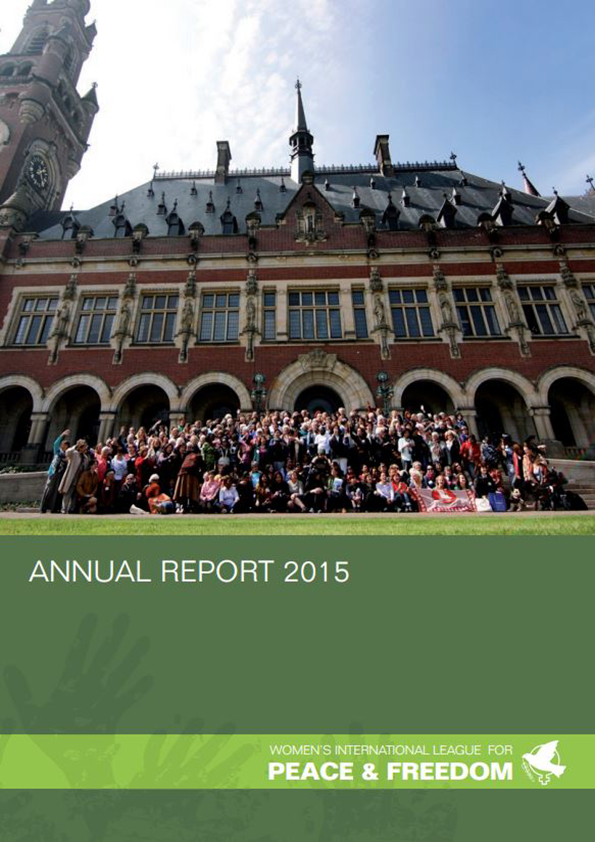 Cover of WILPF 2015 annual report