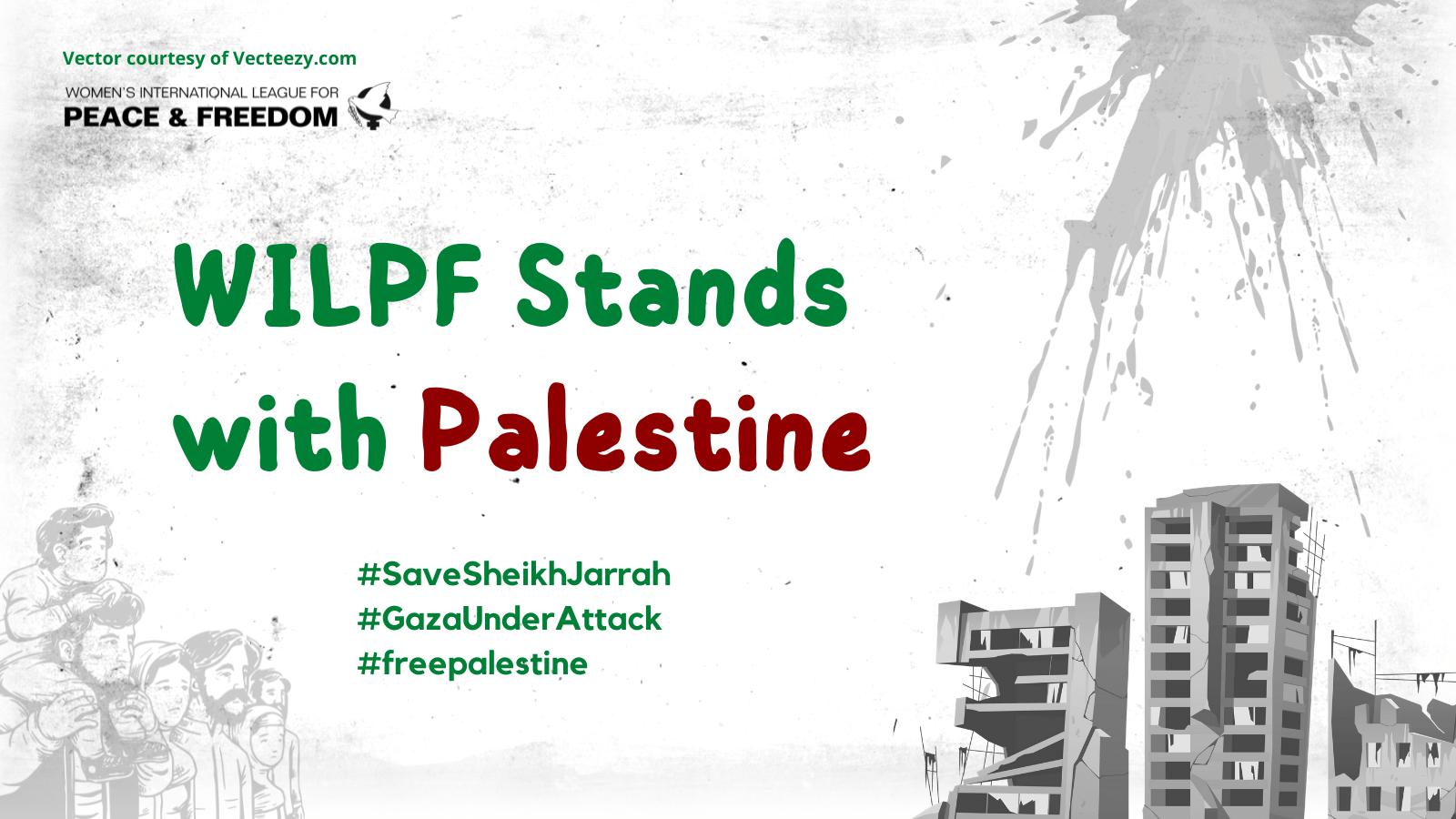 WILPF Stands with Palestine