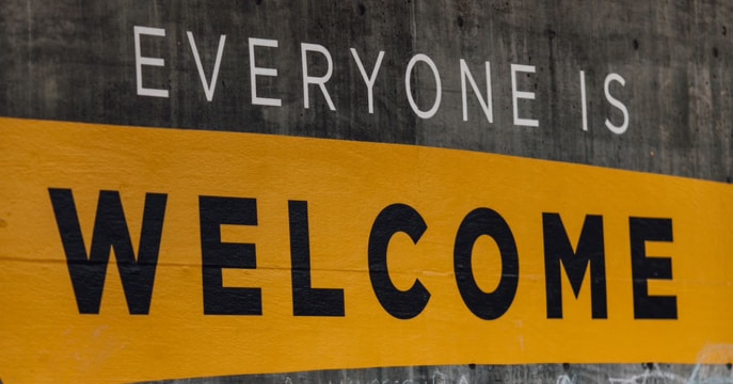 """text """"Welcome everyone"""""""