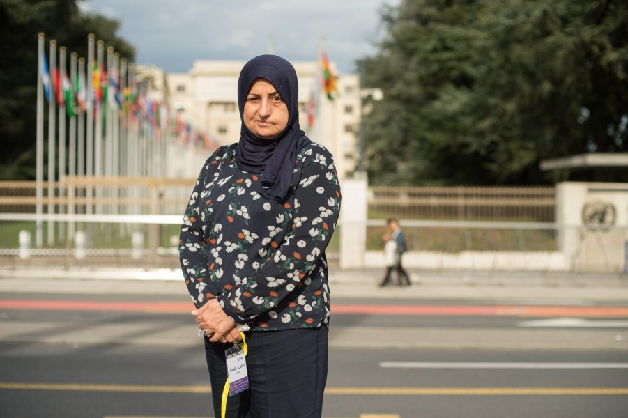 """Amal Kabashi: """"Working together gives us real strength. It gives us a louder voice in demanding our rights and helps us achieve real justice."""""""