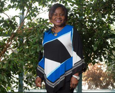 Sylvie Ndongmo smiling